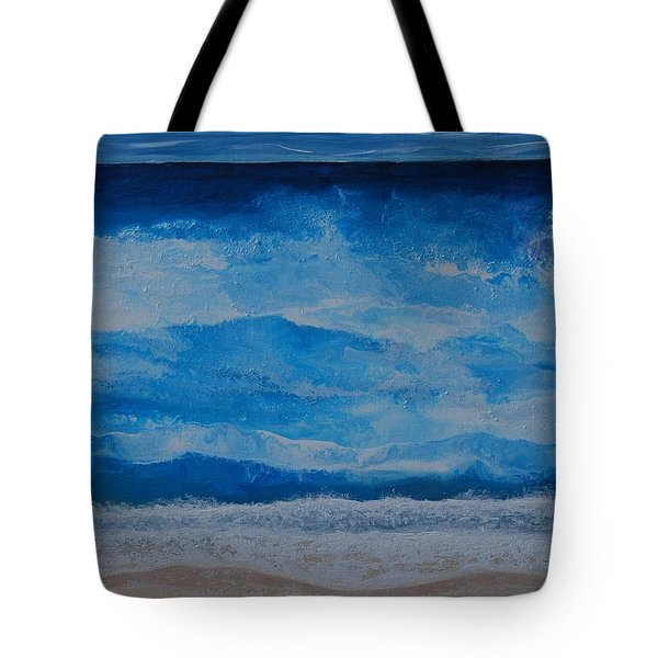 Waves Tote Bag by Linda Bailey