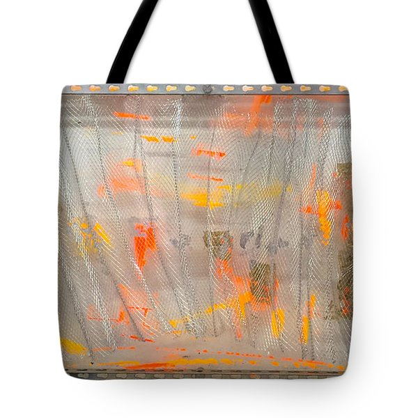 Waves Of Light Tote Bag