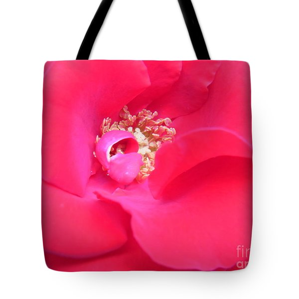 Waves Of Passion Tote Bag by Agnieszka Ledwon