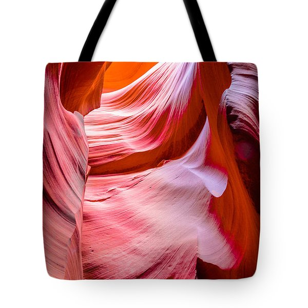 Waves Of Redrock Tote Bag