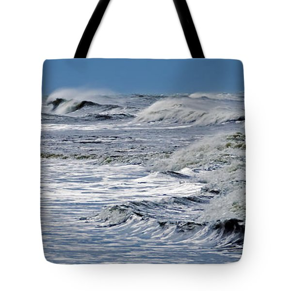 Waves Off Sandfiddler Rd Corolla Nc Tote Bag