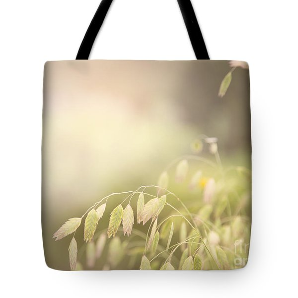 Tote Bag featuring the photograph Waving Fields by Sally Simon