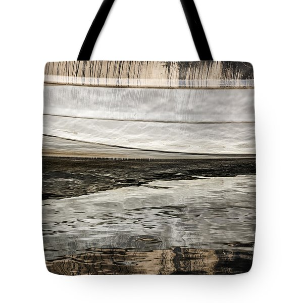 Wavy Reflections Tote Bag