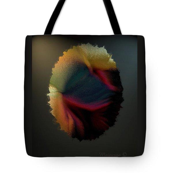 Wavy Strokes Tote Bag by Ines Garay-Colomba