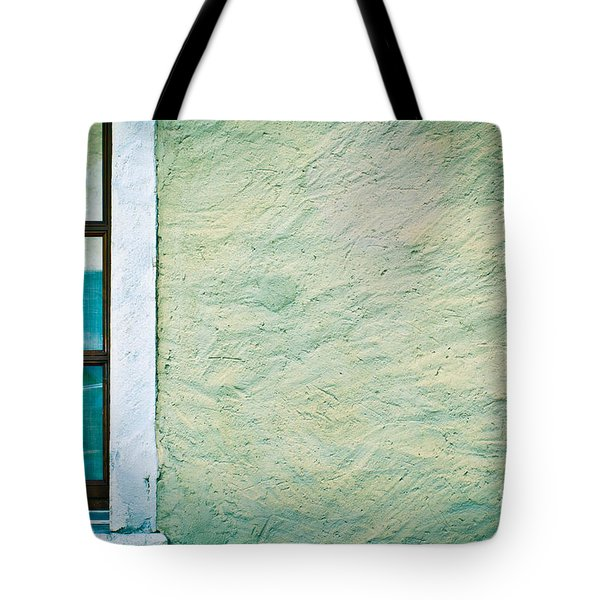 Wavy Wall With Window Tote Bag