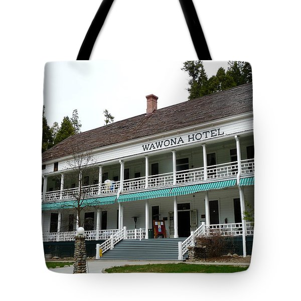 Wawona Hotel In Yosemite  Tote Bag