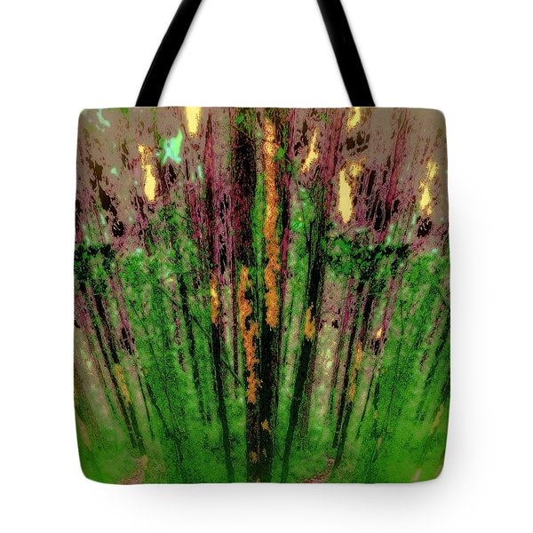 Wax Forest Cathedral Tote Bag