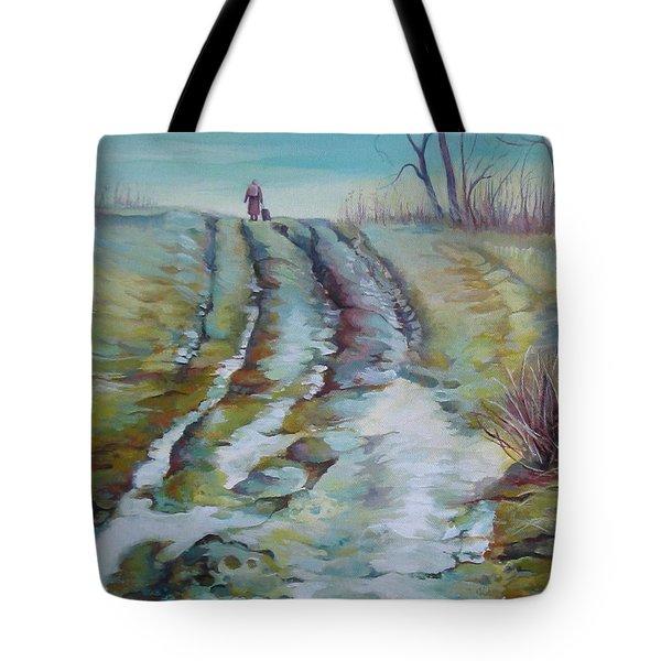 Way Home Tote Bag by Elena Oleniuc