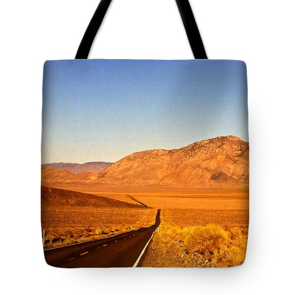 Way Open Road Tote Bag