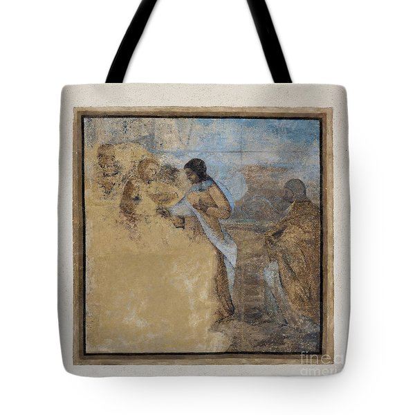 Way To Calvary Tote Bag by Michal Boubin