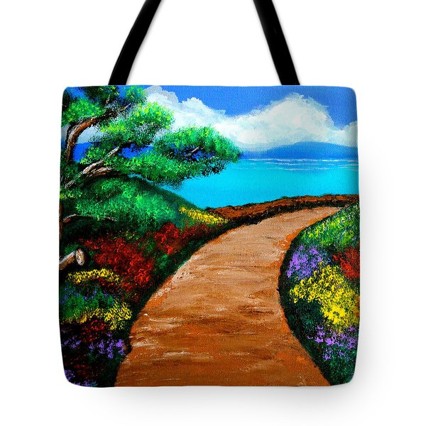 Way To The Sea Tote Bag
