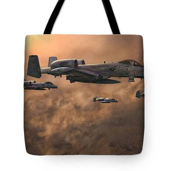 Waypoint Alpha Tote Bag by Dave Luebbert