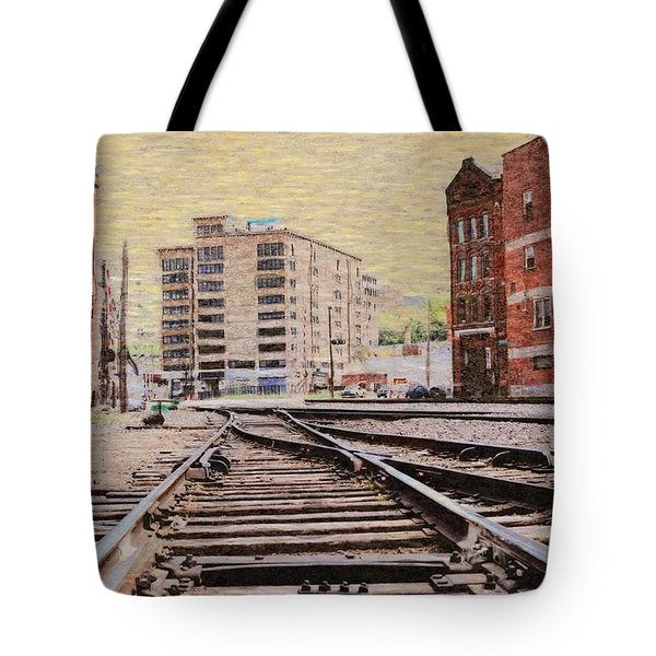 Wb - West Bottoms - Kcmo Tote Bag by Liane Wright