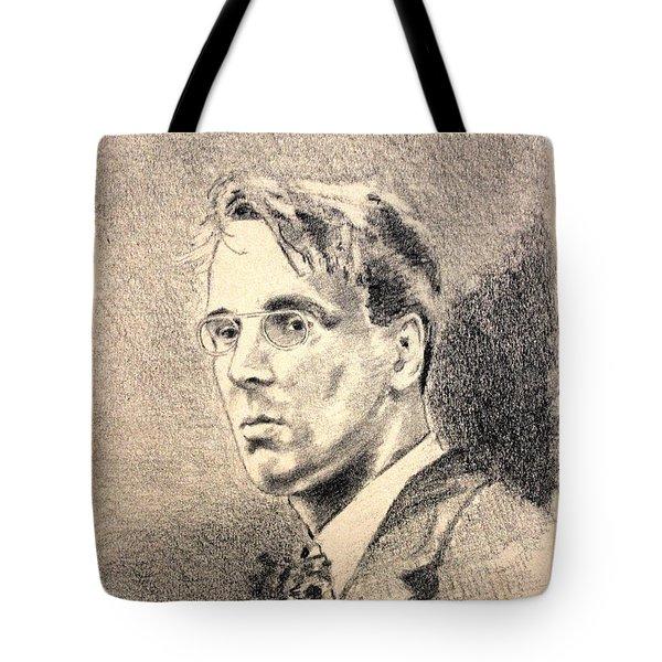 W.b. Yeats Tote Bag by John  Nolan