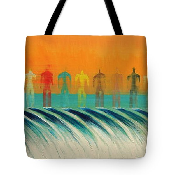 We Are All The Same Tote Bag by Tim Mullaney