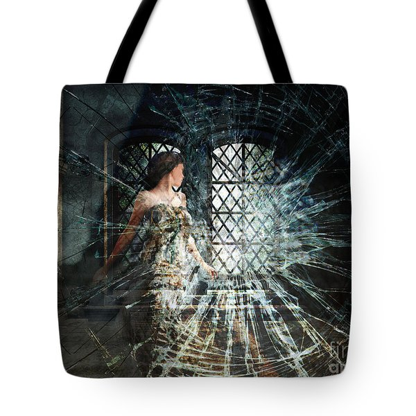 We Are Glass Tote Bag by Lianne Schneider