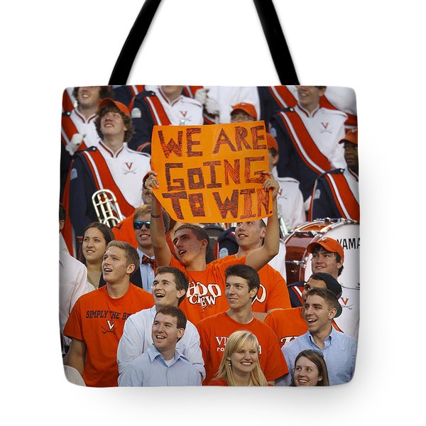 We Are Going To Win University Of Virginia Tote Bag