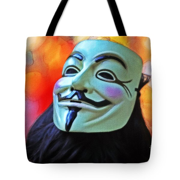 We Are The 99 Tote Bag by Stefano Senise