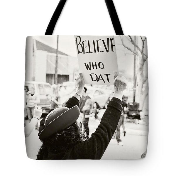 We Believe Tote Bag