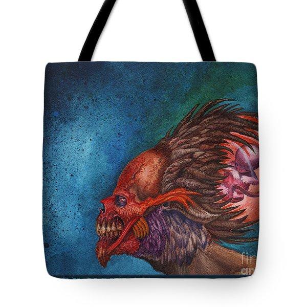 We Breed Monsters Tote Bag