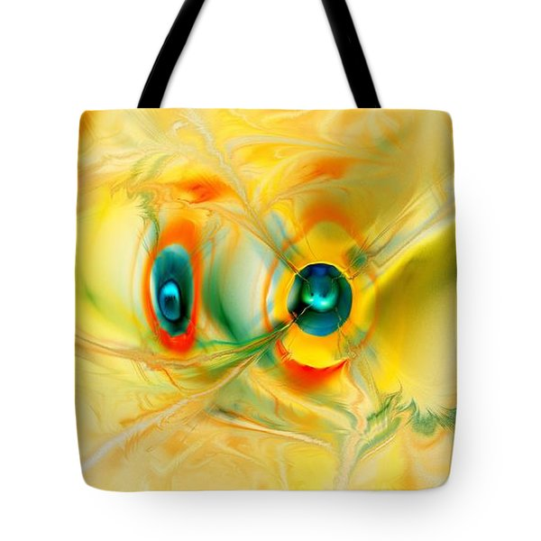We Come In Peace Tote Bag