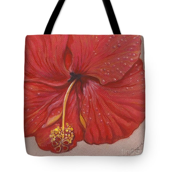 We Have Had Rain Tote Bag by Carol Wisniewski