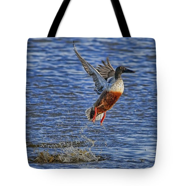 Tote Bag featuring the photograph We Have Liftoff by Gary Holmes