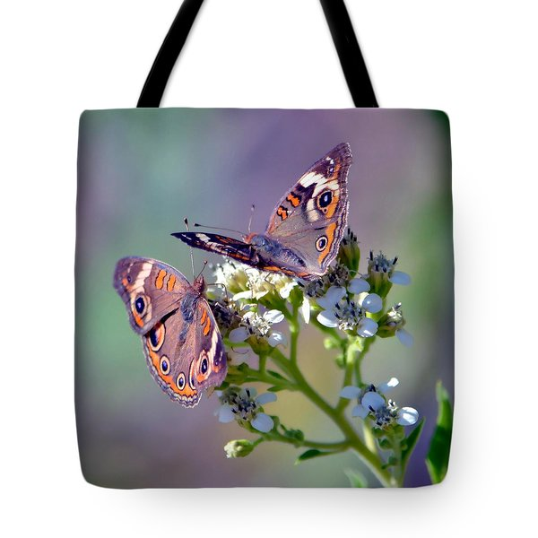Tote Bag featuring the photograph We Make A Beautiful Pair by Deena Stoddard