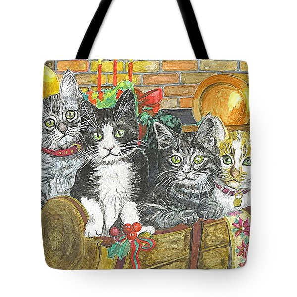 In Harmony Tote Bag by Carol Wisniewski