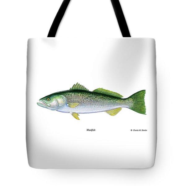 Weakfish Tote Bag