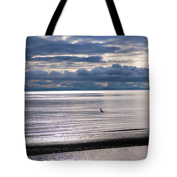 Tote Bag featuring the photograph Weather Water Waves by Jordan Blackstone