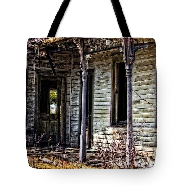 Weathered And Worn Tote Bag