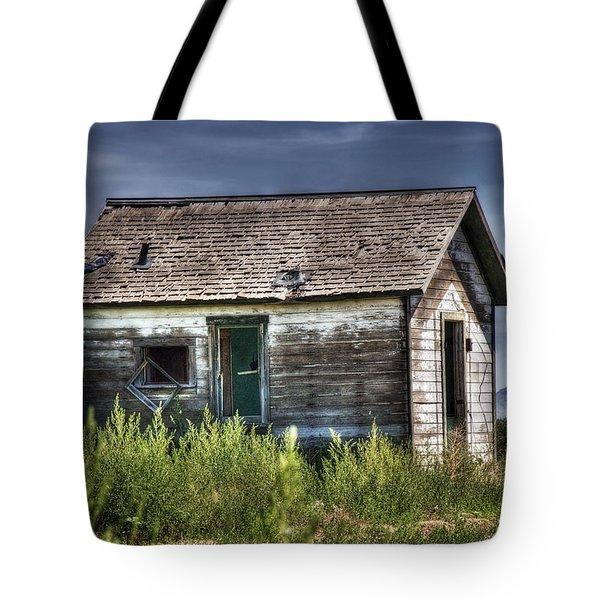Weathered And Worn Well  Tote Bag by Saija  Lehtonen