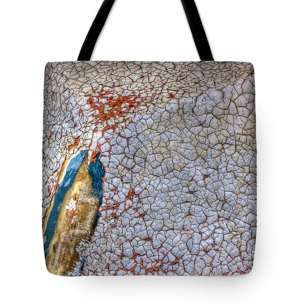 Weathered Boat - Abstract Tote Bag by Heidi Smith