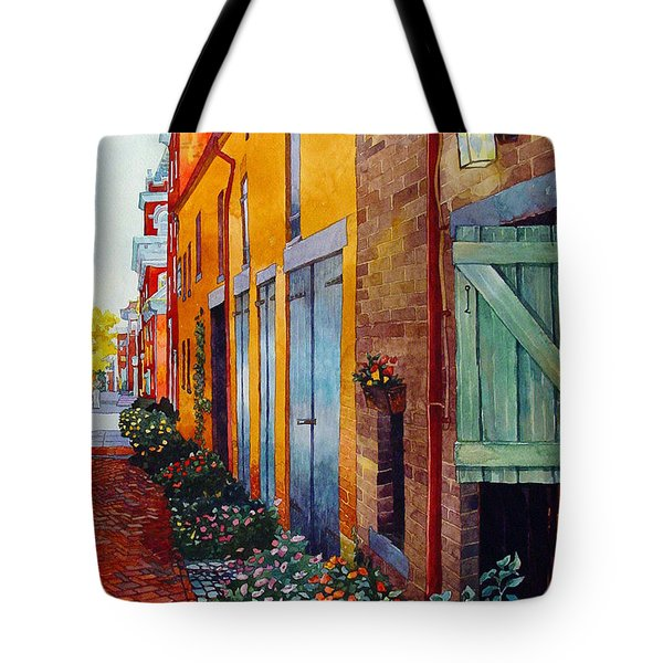 Weathered Door Rustic Path Tote Bag