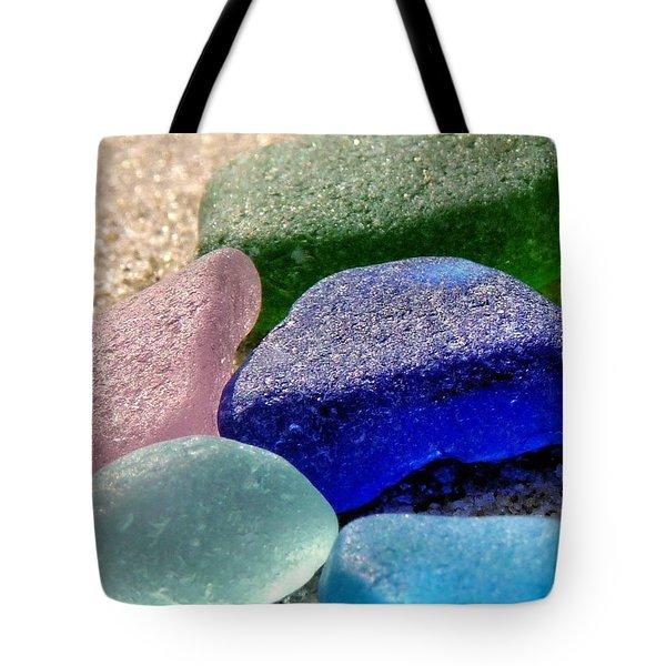 Weathered Glass Tote Bag