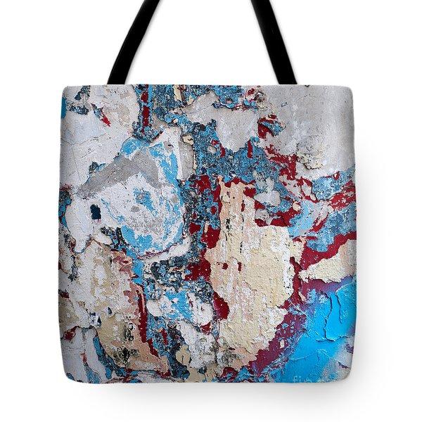 Weathered Wall 02 Tote Bag