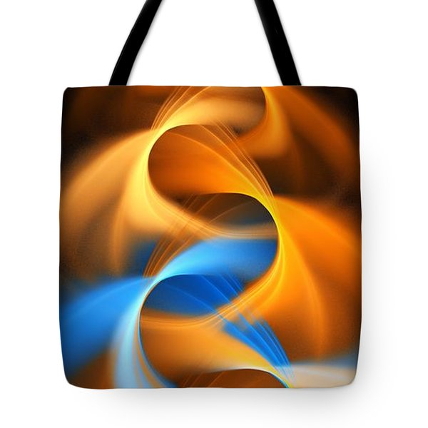 Weaving Color  Tote Bag by Elizabeth McTaggart