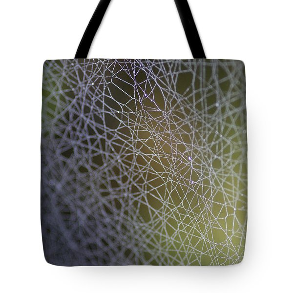 Web Connections Tote Bag