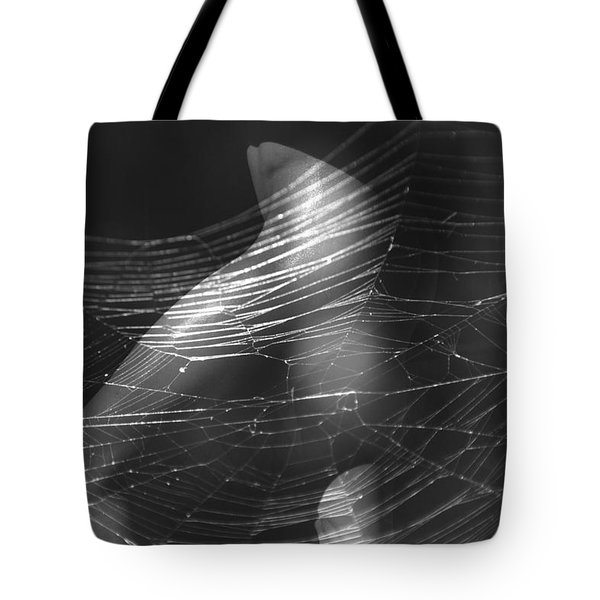 Web Of Legs Tote Bag