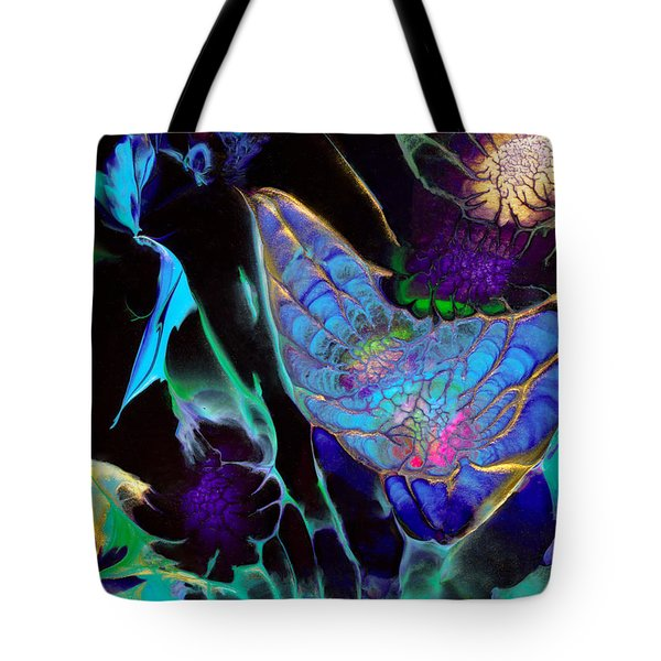Webbed Galaxy Tote Bag