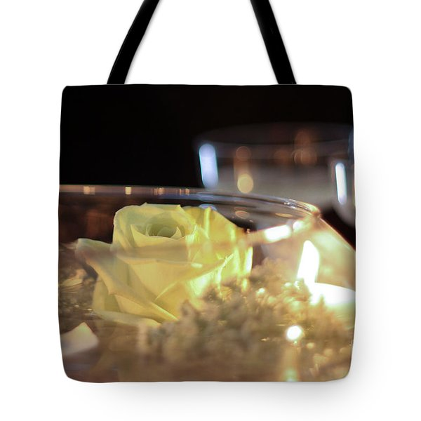 Wedding Bliss Tote Bag by Terry Weaver