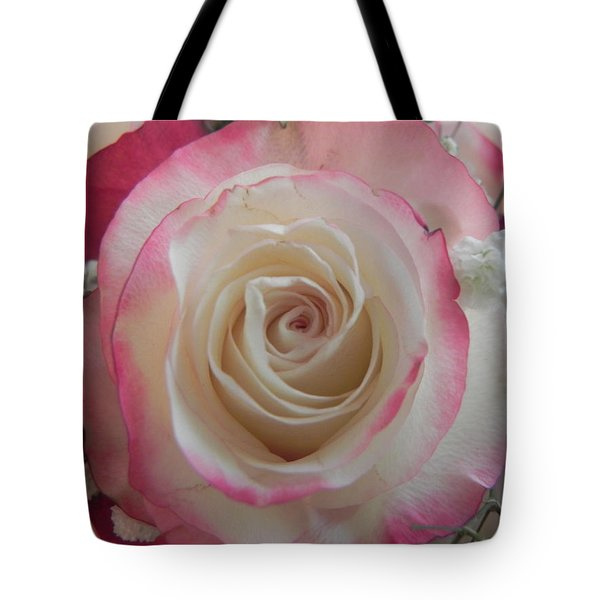 Tote Bag featuring the photograph Wedding Bouquet by Deb Halloran