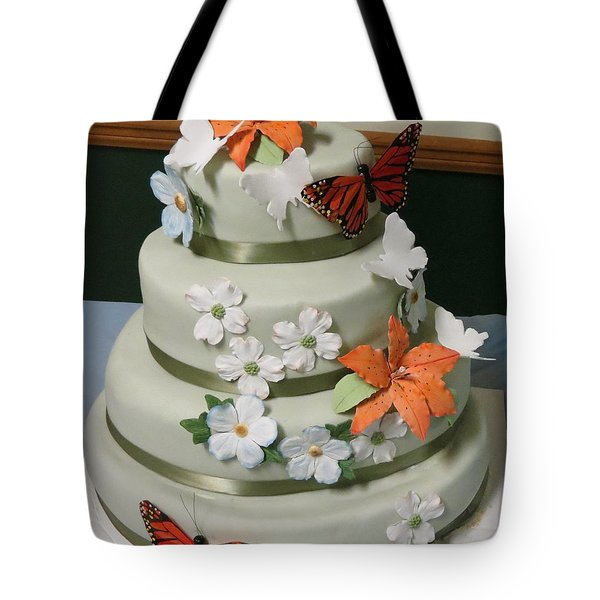 Wedding Cake For April Tote Bag