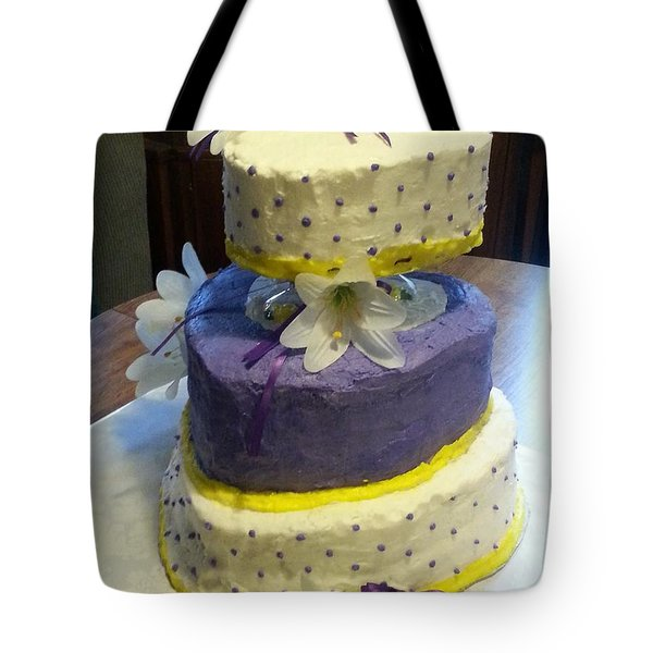 Wedding Cake For May Tote Bag