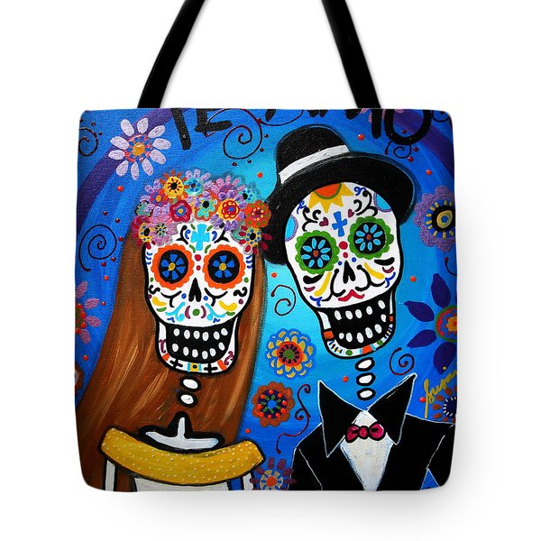 Wedding Couple  Tote Bag