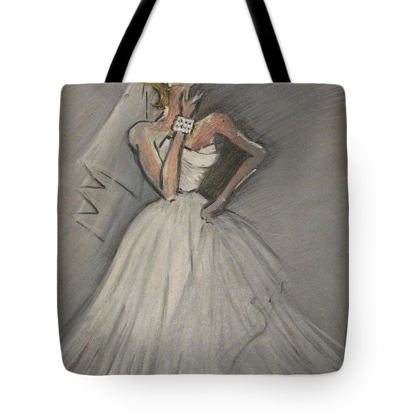 Wedding Dress Tote Bag