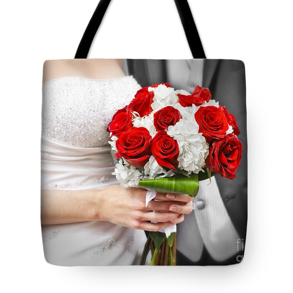 Wedding Tote Bag by Elena Elisseeva