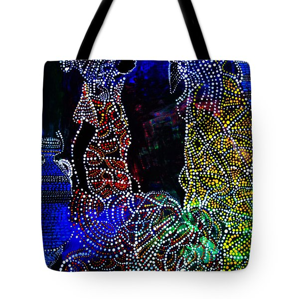 Wedding In Cana Tote Bag by Gloria Ssali