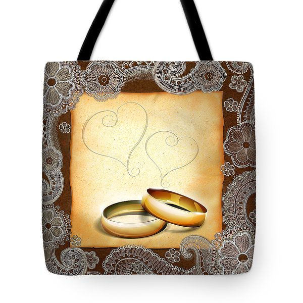 Wedding Memories V1a Classic Tote Bag by Peter Awax